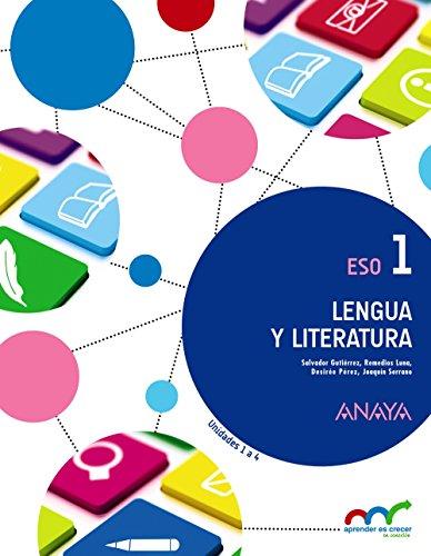 Lengua Literatura 1 Aprender crecer conexion Pack 3