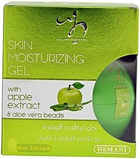 Hemani Apple and Aloe Vera Beads Skin Moisturizing Gel, 60 ml