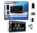 Soundstream Double Din VR-651B DVD/CD Player AUX SD AM/FM Radio USB 7' LCD Bluetooth APP Control Android Phone Link
