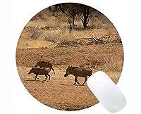 動物のアートマウスパッド、愛らしい小さな豚と一緒に印刷されたナミビア