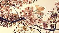 大人の子供のための300ピースのジグソーパズル、大きなジグソーパズル桜の花手作教育玩具ギフトパズル壁装飾