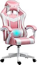 Krzesło Do Gier Komputerowych Ergonomiczny Oparcie I Regulacja Wysokości Siedzenia Obrotowy Krzesło, Krzesło Biurowe Krzes...
