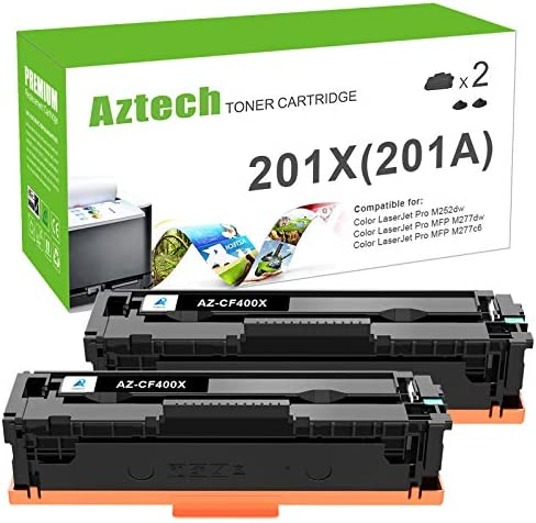 Aztech Compatible Toner Cartridge Replacement for HP 201X CF400X 201A CF400A High Yield HP Color product image