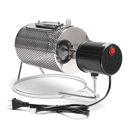 ACEOLT 220V Lebensmittel Edelstahl Haushalts Kaffeeröster, Kaffeeröster Maschine Kaffeebohnen Röstmaschine Kaffeeröster Roller Baker für Kitchen Bar Cafe