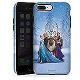 Coque Compatible avec Apple iPhone 7 Plus Coque renforcée Coque Antichoc Disney La Reine des Neiges Cadeaux pour Supporters