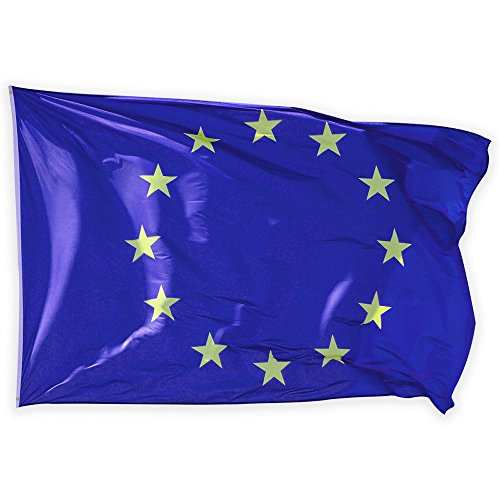 Naicasy, bandiera dell'Unione Europea, 150 cm x 90 cm