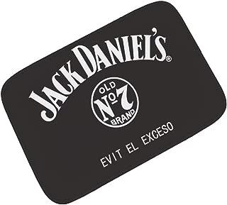 YQ Park Jack Daniel's Welcome Doormat Front Porch Decor Indoor/Outdoor Floor Mud Dirt Trapper Mats Cotton
