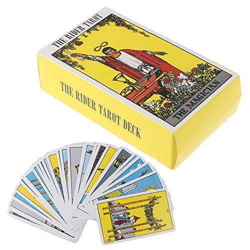 Tarjeta Tarot Cartas Inglés Completo Radiant Rider Wait Tarot Cards Factory Made Smith Tarot Deck Board Game Cards
