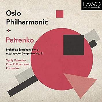 Prokofiev: Symphony No. 5 - Myaskovsky: Symphony No. 21