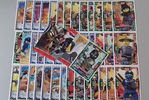 Ninjago - Serie 4 Trading Cards - 50 Verschiedene Base Karten - Deutsch + Bonus