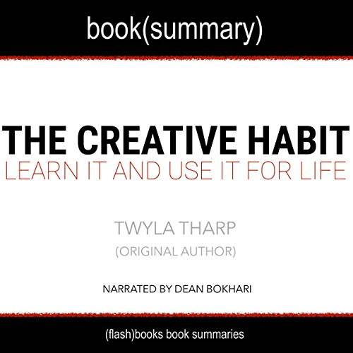Summary of The Creative Habit by Twyla Tharp audiobook cover art
