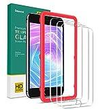 Deyooxi Protector de Pantalla para iPhone 6S/iPhone 6 / iPhone 7/iPhone 8 /iPhone SE 2020, 3 Unidades Cristal Vidrio Templado Pantalla Protectora, Alta Definicion,Transparente