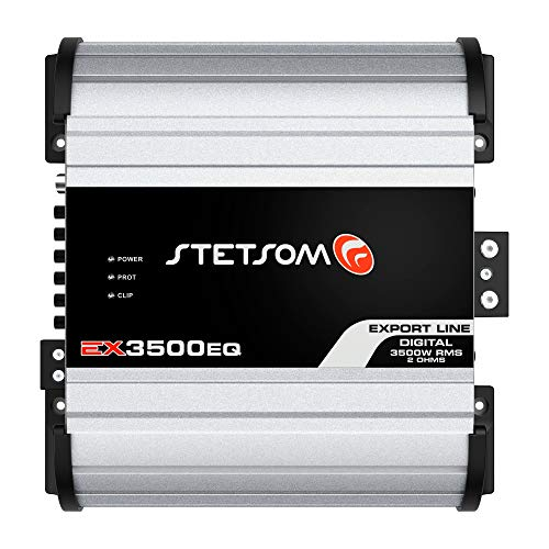Stetsom EX 3500 EQ 1 Ohm Class D Full Range Mono Amplifier