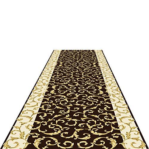 SXXYXH Alfombra de Pasillo de Escalera, Antideslizante, Duradera, Lavable, alfombras de Pasillo de Entrada, no se decolora fácilmente, fácil Cuidado, tamaño Personalizable,0.5X4.5M/1.64X14.76ft