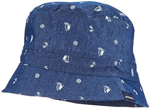maximo Jungen Hut Mütze, Blau (Jeans-segelboot 63), (Herstellergröße: 53)