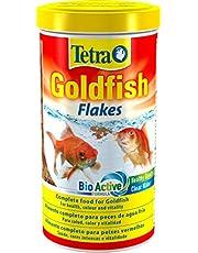 Tetra Goldfish Flakes - Alimento para todos los peces dorados y otros peces de agua fría, 1 L