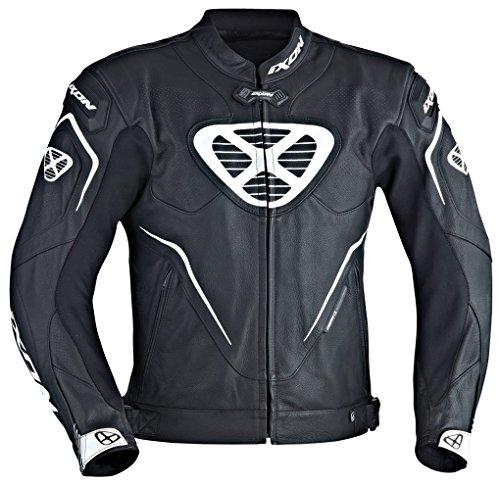 Ixon – Motorradjacke Orcus schwarz/weiß – XL