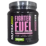 NutraBio Fighter Fuel Women - 20 Servings - Green Apple