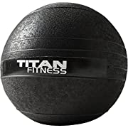 Titan Fitness 10-60 lb Slam Spike Ball Rubber Exercise Weight Crossfit Workout