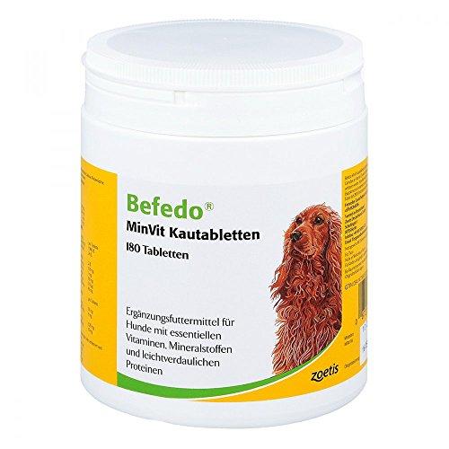 Zoetis - Befedo Minvit Kautabletten für Hunde 180 Tabletten, 1er Pack (1 x 0.62 kilograms)