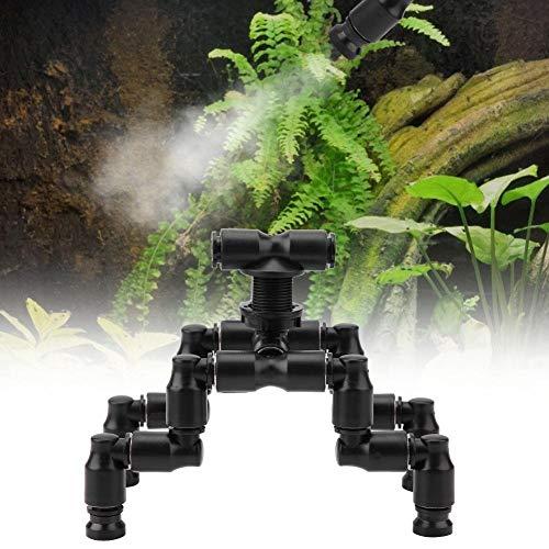 Pssopp Reptilien Nebel Sprinkler Regenwald Tank Einstellbare Haustierkühldüse Einstellbare Ökologische Landschaft Regenwald Tank Haustier Nebel Sprinkler