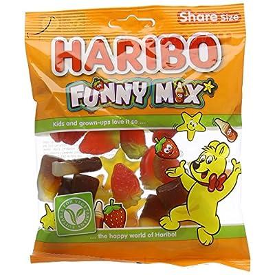 haribo funny mix vegetarian sweets, 1.7kg HARIBO Funny Mix vegetarian sweets, 1.7kg 51Yl4IF 4qL