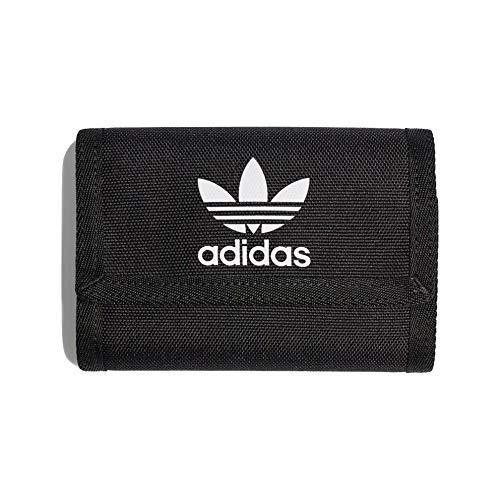 Adidas TREF TF Wallet - Cartera para hombre, color negro
