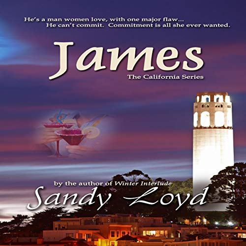 James audiobook cover art