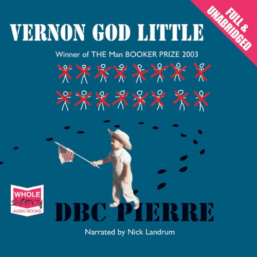 Vernon God Little audiobook cover art