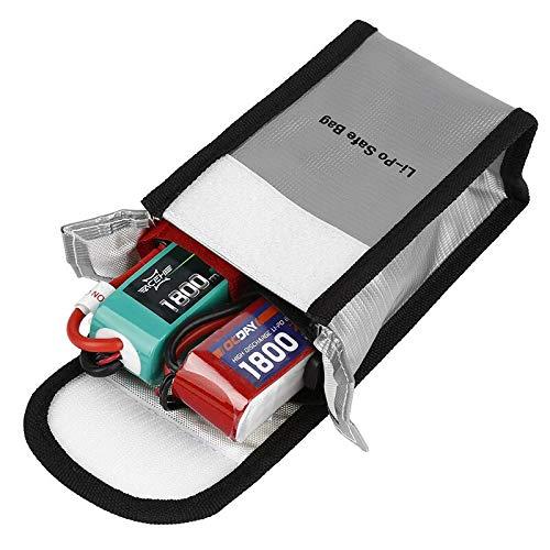 OUYBO Bolsa Bolsa 1pcs Lipo seguridad de la batería Lipo Guardia carga de la batería Saco protección de la batería bolsa de Li-Po batería de 90 mm x 55 mm x 150 mm Accesorios de batería de piezas RC