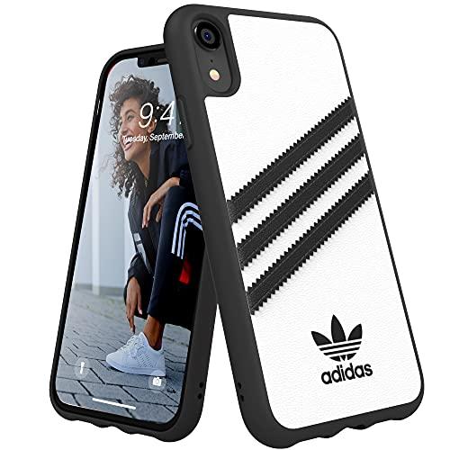 Adidas Originals, cover per iPhone XR, modellato, Bianco/Nero