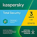 Kaspersky Total Security 2021 | 3 Geräte | 1 Jahr | Windows/Mac/Android | Aktivierungscode per...