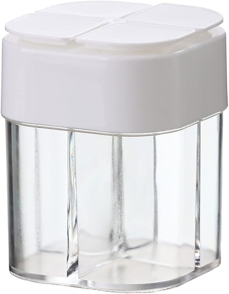 Special service Campaign Lnrueg Barbecue Sealed Jars Pots Shaker Spice Transparen Storage