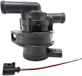 Wying Store Cooling Pompe à eau auxiliaire supplémentaire 078121601 078121601b Fit pour SKODA Apte à AUDI Apte à A6 ajusté...