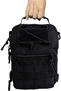 BAPDSB EDC Molle Sling Bag Militar Hombro Mochila Pecho Paquete 600D Mochila de Hombro de los Hombres tácticos al Aire Libre Bolsa de Mano de los Hombres