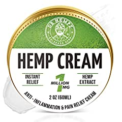 ✅ INSTANT HEMP CREAM - We combine our proprietary hemp blend with a range of natural pain relieving and anti-inflammatory ingredients, to give your aches and pains an unmatched remedy for relief . It also provides unparalleled moisturization! ✅ PREMI...