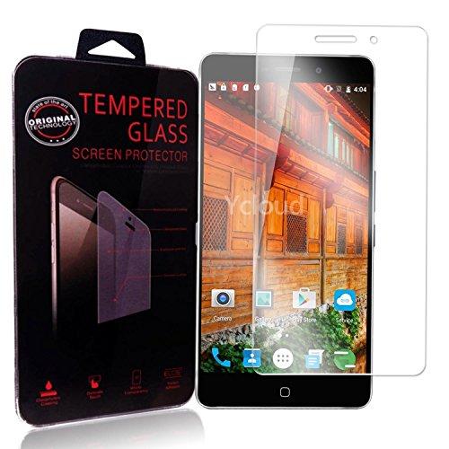 Ycloud Panzerglas Folie Schutzfolie Displayschutzfolie für Elephone P9000 Lite screen protector mit Härtegrad 9H, 0,26mm Ultra-Dünn, Abgerundete Kanten