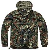 Brandit Summer Chaqueta impermeable para hombre, chubasquero, anorak, chaqueta para entrenar, talla S a 5XL, Hombre, 3162, camuflaje, xxx-large