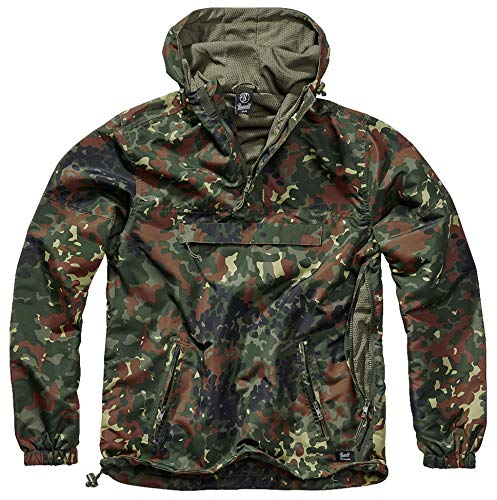 Brandit Summer Windbreaker, Flecktarn, 3XL