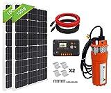 ECO-WORTHY Kit de bomba de pozo solar bomba de agua...
