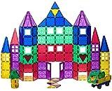 Playmags Magnetic Tiles Juego Ganador de los Colores claros con Coche de bonificación - ValueSet 100 Piezas! - Entrega Rápida en el Reino Unido B-Creative