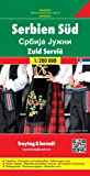 Serbien Süd, Autokarte 1:200.000: Wegenkaart 1:200 000