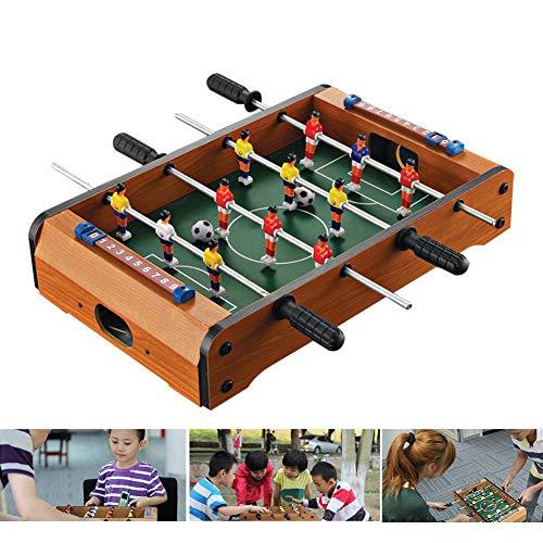 Tischfußball Klappkicker - 4 in 1 multifunkniertes Interaktive Fußballspiele für Eltern und Kinder, Kleiner Tisch
