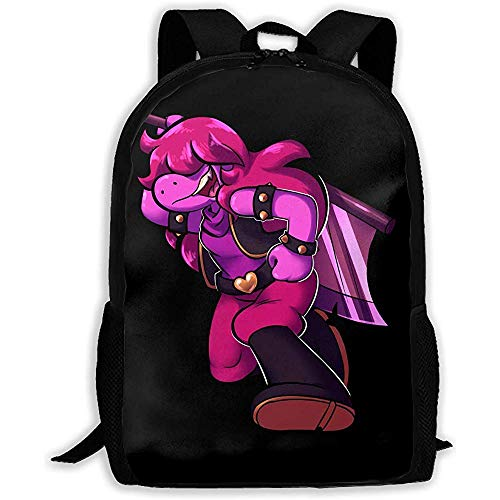 FWEF Unisex Adult Backpack Susie Delta-Rune Bookbag Travel Bag Schoolbags Laptop Bag for Men and Women