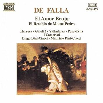 Falla: Amor Brujo (El) / El Retablo De Maese Pedro