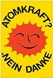 Empire 385499 Atomkraft - Nein Danke - OOA Logo - Poster