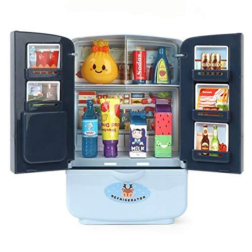 Sensitiveliu Muebles para niños de Juguete de Cocina con Accesorios de Juego de Juguetes de Cocina