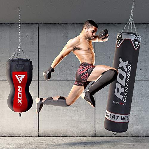 guantes + saco color negro adidas Set de boxeo