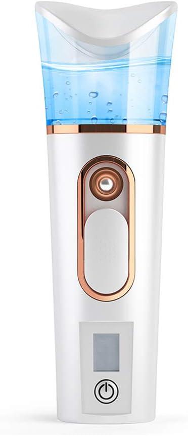 Práctico pulverizador de nano niebla, portátil, atomización facial, extensiones de pestañas, vaporizador hidratante con 35 ml de capacidad de tanque de agua, herramienta de cuidado de la piel