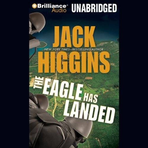 The Eagle Has Landed audiobook cover art